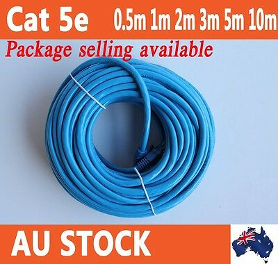 0.5m, 1m, 2m, 3m 5m 10m Cat5/Cat5e 100mbps RJ45 Ethernet LAN Network Patch Cable