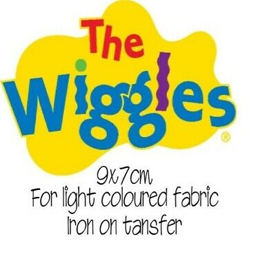 Iron On Transfer Small Wiggles Wiggle Transfer Logo 9X7Cm