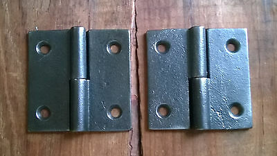 Right Handed - Cast Iron Lift Off Hinges – 2 1/2 x 2 1/2