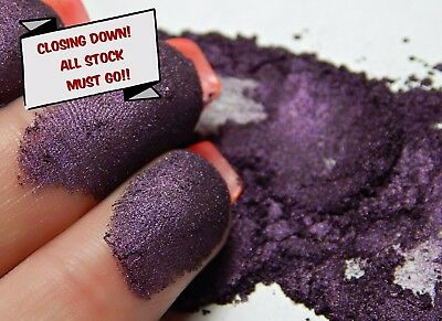 PRICE REDUCED! Pearlescent Mica Powder Pigment 10g - Dark Purple CLOSING DOWN