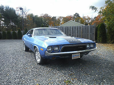 Dodge : Challenger REAL A57 RALLY 1973 b 5 challenger nicely restored solid southern car disc brakes 1 awesome car