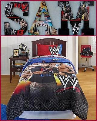"""WWE 9"""" Childrens Wooden Letters Decor Can do any Theme"""