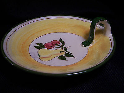 Stangl FESTIVAL Della-Ware Candy/Olive Dish with Handle