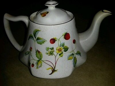 Beautiful James Kent vintage strawberry teapot