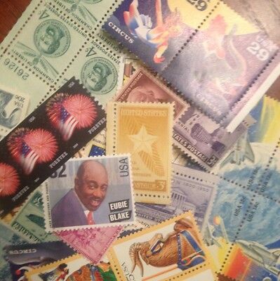 $8.00 face Mint multiples and singles 1cent to 75 cents WILL INCLUDE FOREVERS