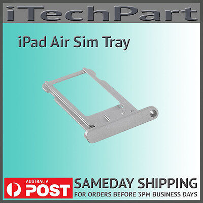 Silver SIM Card Slot Tray Holder Replacement For iPad Air iPad Mini 2