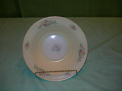 "American Limoges Candle Light Troubadour Yellow Floral  8-3/4"" Vegetable Bowl"