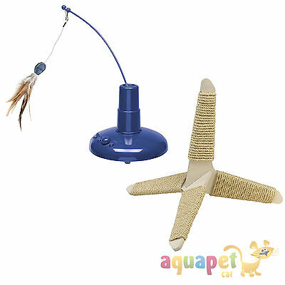 Ferplast Raptor Cat Toy or Tripod Cat Scratcher Cat Toy