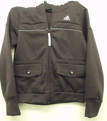 Girls Adidas  Zipped Hooded Tracksuit Mix Top Various Sizes & Colours (A-51)