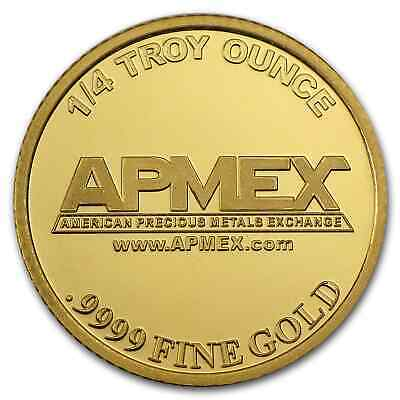 1/4 oz Gold Round - APMEX - SKU #57381