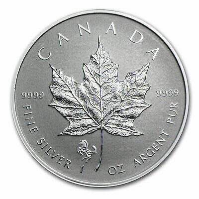 2014 Canada 1 oz Silver Maple Leaf Lunar Horse Privy - SKU #79543