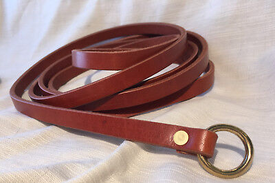 "1/2"" Wide X Slender Medieval Ring Belt SCA, Faire, Sword, Pirate, Rennie, Knight"