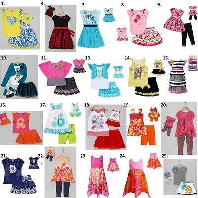 """Dollie & me sz 4 5 6 6X and 18"""" doll matching outfit dress american girl"""