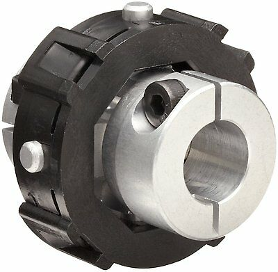 Huco 205.41.3636.Z Size 41 Universal-Lateral Coupling with Integral Leaf Clamp