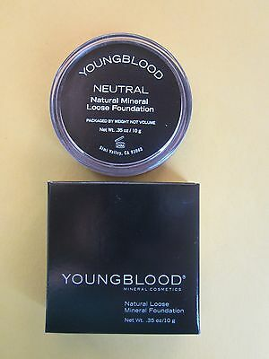 YOUNGBLOOD  Natural Loose Mineral Foundation, NEW (CHOOSE YOUR SHADE)