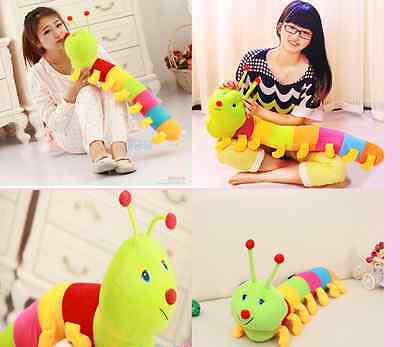 Lovely Playmate Doll Toy For Child Baby Plush Inchworm Caterpillar Colorful Nice