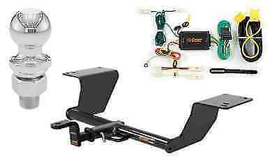 """Curt Class 2 Trailer Hitch Tow Package for Toyota Camry w/ 2"""" Ball"""