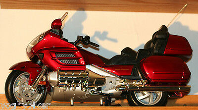 Introvabile Modellino Honda Goldwing 1800 Scala 1:6 Rossa