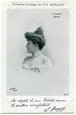 Carte Postale Photo Personnalite   J Margyl Opera