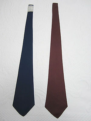 Vintage Arrow Barathea Neck Tie - Blue or Red - New Old Stock