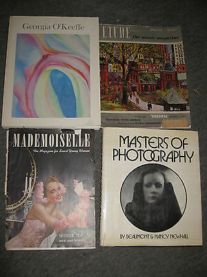 Vintage Mixed Lot of 4 Books and Magazines, Assorted Subjects