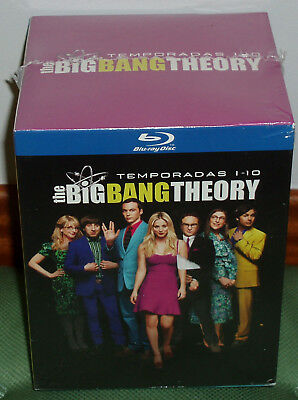The Big Bang Theory 1-10 Temporadas Completas 20 Blu-Ray Precintado Nuevo Series