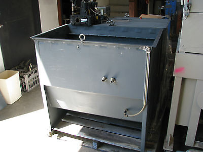 Large Parts Washer / Water Liquid Oil Holding Tank - 450 Litre