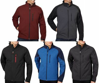 NEW-Kirkland Men Soft shell Jacket Wind and Waterproof Breathable, Size: S - 3XL