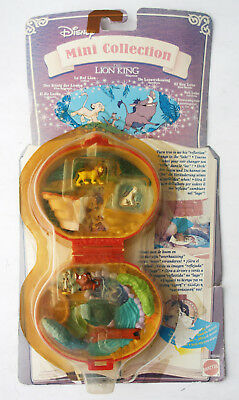 Rare Vintage 1996 Tiny Mini Collection Lion King Playset Polly Mattel New Sealed