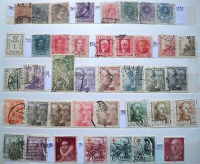 (WK55) 1889-1997 Spain& colonies mix approx 130stamps