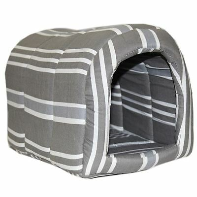 Fabric Igloo Shape Soft Warm Pet Dog Cat House Bed Puppy Kitten Different Sizes
