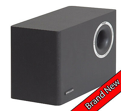 Vibe Optisound 5 80 Watt Compact Subwoofer Speaker Audio LED LCD  TV  Gaming