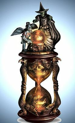 """Wizard of Oz"" 'I'll Get You My Pretty' Illuminating Hour Glass Sculpture"
