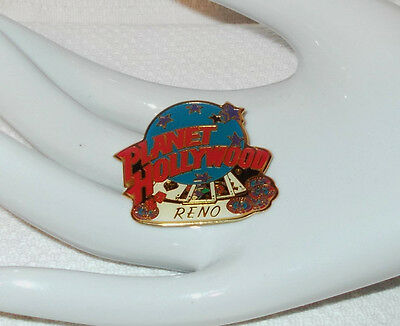 PLANET HOLLYWOOD RENO ROYAL FLUSH LAPEL HAT PIN