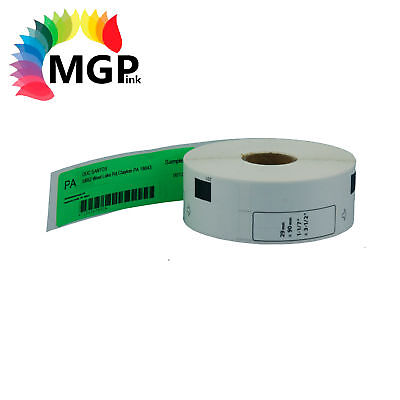 1 Compatible for Brother DK11201 Refill only Green Address Label QL500 QL550 ...