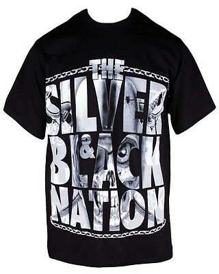 The Silver And Black Nation T-Shirt Med Lg Xl 2X 3X 4X Oakland Raiders