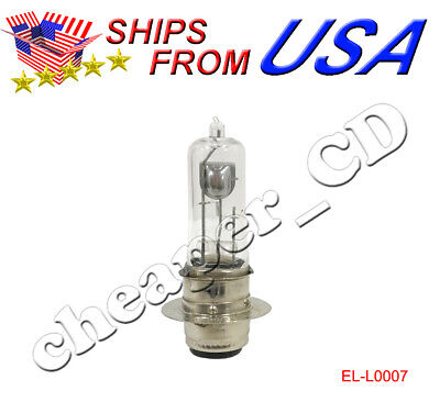 12V 25 25W Light Bulb Fit 12V 18/18W Motorcycle Scooter Moped low high Beam