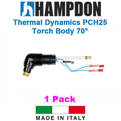 Thermal Dynamics Style PCH25 Torch Body 70° – 1 Pack - 9-5807 – Hampdon - P
