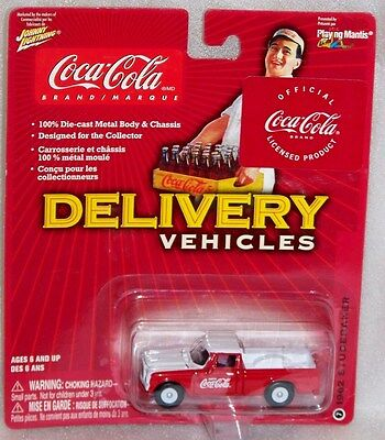Coca Cola Johnny Lightning Delivery Vehicles #7 1962 Studebaker NIP