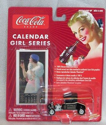 CocaCola Johnny Lightning Calendar Girl Series #1 '20's  Ford T-Bucket  1:64