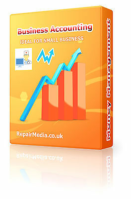 Accounting Bookkeeping Cash Business Finance Management Software Windows PC