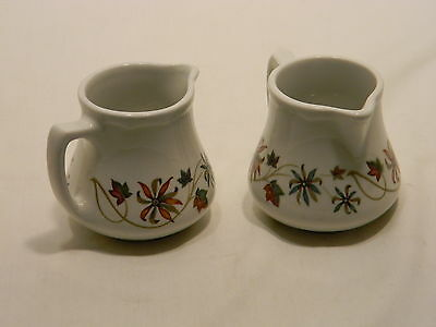 DURALINE SUPER VITRIFIED GRINDLEY HOTELWARE CREAMER'S CUPS