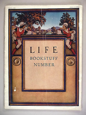 Life Magazine - May 11, 1922 -- Maxfield Parrish cover