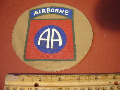 Wwii Usa 82 Nd Airborne Division D-Day Holland Bulge Jacket  Patch