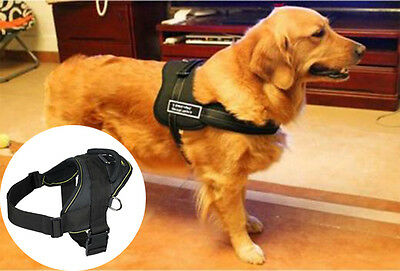 Brand New Multi Purpose Sport Dog Pet Easy Step In Use Harness Black 3 Sizes