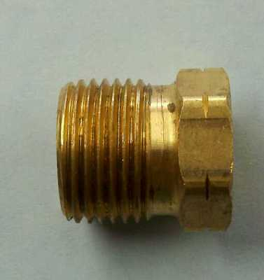 Propane Tank All Brass P.O.L. Nut Only 7/8 Left Handed Treads