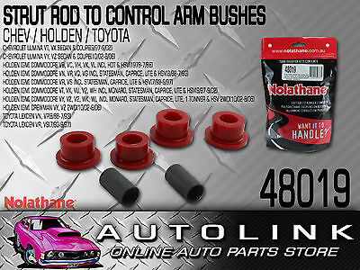 Front Strut Rod To Control Arm Bush Kit Nolathane Suit Holden Commodore Vy Vz