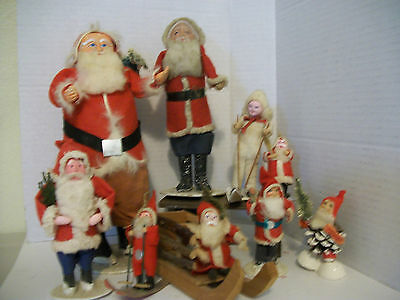 INSTANT Antique Christmas Santa Collection!!!  NICE!!