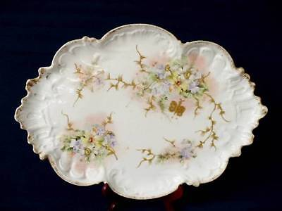 Antique Limoges Rococo Style Dressing Table Tray - Made For  E.G. Stephenson