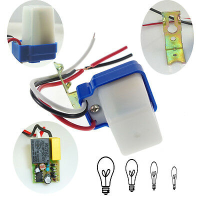 AC DC 12V 10A Auto On Off Switch Street Light Photocell Photoswitch Sensor BEST